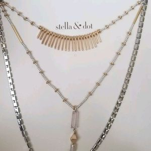 Stella dot riad Layering necklace